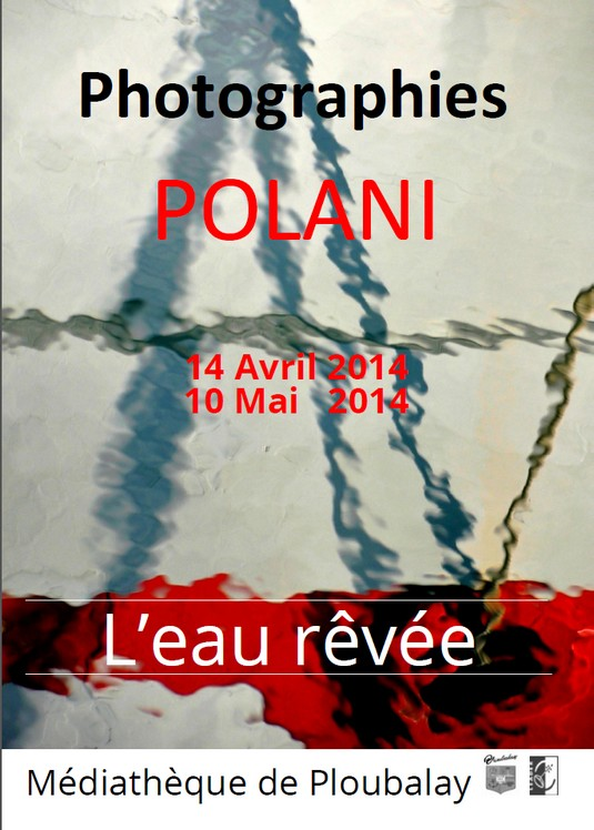 affiche expo 2014 l`eau revée ploubalay